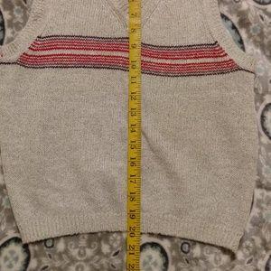 Cattiva Tops - [Cattiva] Soft Gray Knit V-Neck Sweater Vest Tank
